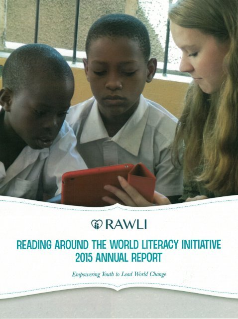 RAWLI Annual Report - Front