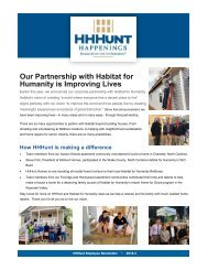 HHHunt Newsletter