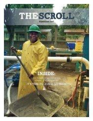 The Scroll: February 2017