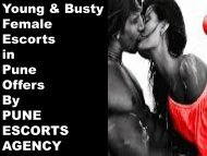 Attractive Services by Pune Escorts Agency