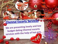 Dating Pleasure with Hot Independent Chennai Escorts