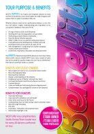 Studio Owner-Team Leader Tour Brochure 2017 - Page 5
