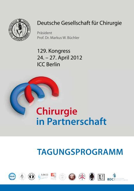 Chirurgie In Partnerschaft 129 Kongresses Der Deutschen