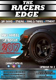 The Racers Edge Mag Wheel Catalogue 2017