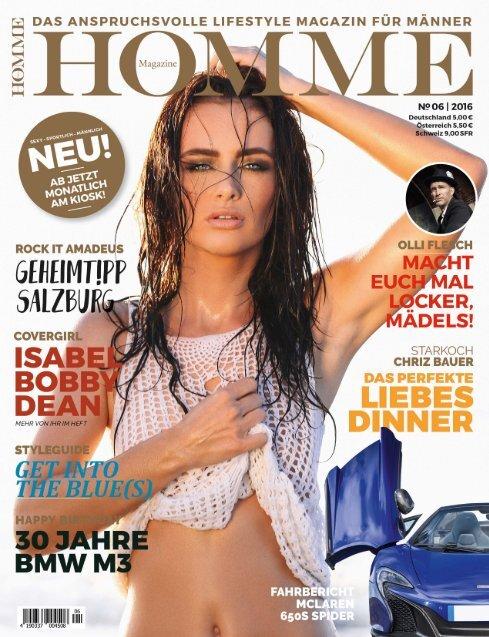 HOMME MAGAZINE Ausgabe 06/2016