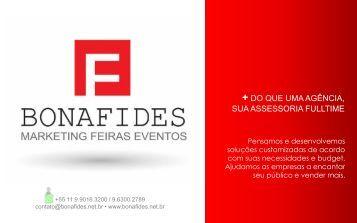 BONAFIDES MARKETING, FEIRAS E EVENTOS