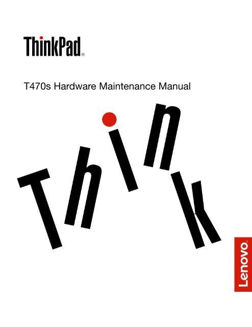 T470s Hardware Maintenance Manual