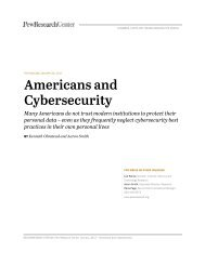 Americans and Cybersecurity