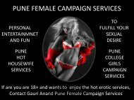Get ultimate satisfaction by Gauri Anand Pune Models