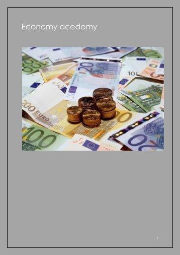 Economy Academy Magazine Youri