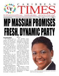 Caribbean Times 90th Issue - Friday 3rd February 2017