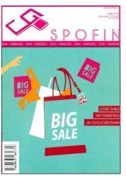 Časopis SPOFIN - Spotřeba pro život 2016
