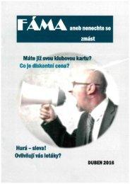 Časopis FÁMA - Spotřeba pro život 2016
