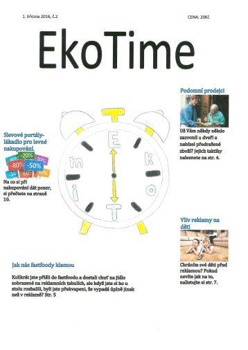 Časopis EkoTime - Spotřeba pro život 2016