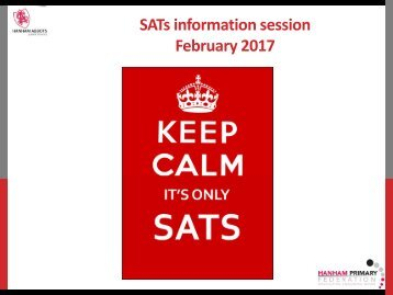 SATs information session February 2017