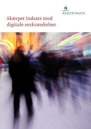 Skærpet indsats mod digitale sexkrænkelser