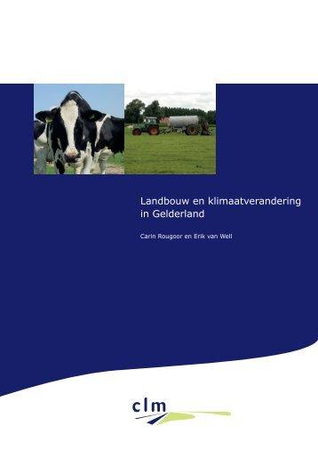 Landbouw en klimaatverandering in Gelderland