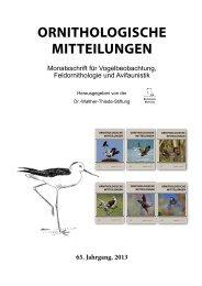 Ornithologische-Mitteilungen-Jahresregister-Band65-2013