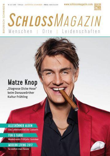 SchlossMagazin Bayerisch-Schwaben Februar 2017