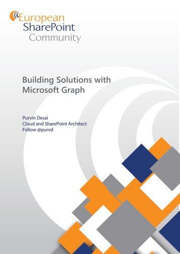 Building Solutions with Microsoft Graph