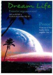Časopis Dream Life - Spotřeba pro život 2015