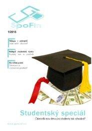 Časopis SpoFin - Spotřeba pro život 2015
