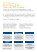 SAP Line of Business Digital Supply Chain - Page 2