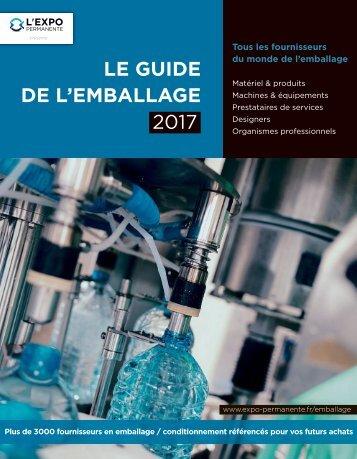 Guide de l'Emballage 2017