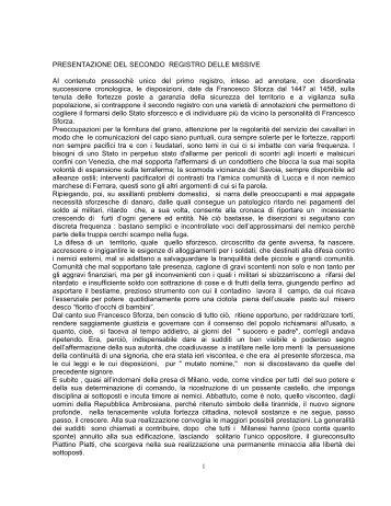 Registro missive n. 2 - Istituto Lombardo Accademia di Scienze e ...