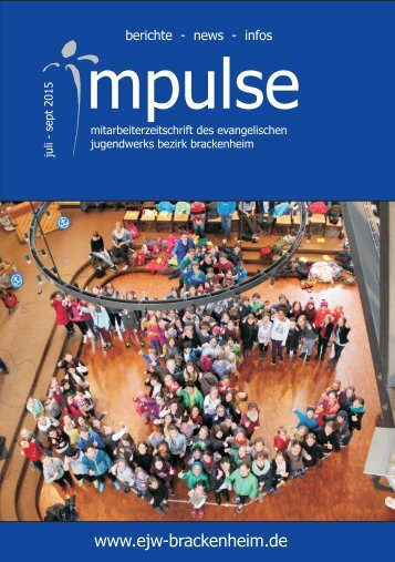 Impulse Juli bis Sept. 2015
