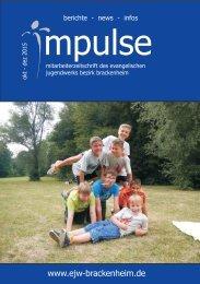 Impulse Okt. bis Dez. 2015