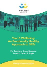 Year 6 Wellbeing An Emotionally Healthy Approach to SATs