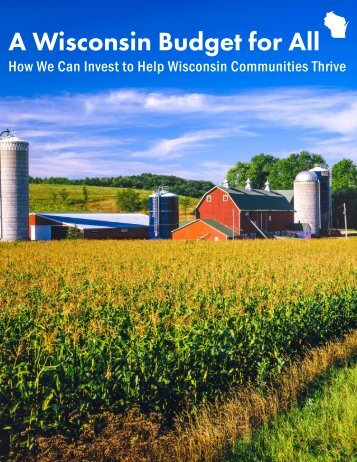 A Wisconsin Budget for All