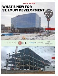 WHAT'S NEW FOR ST LOUIS DEVELOPMENT