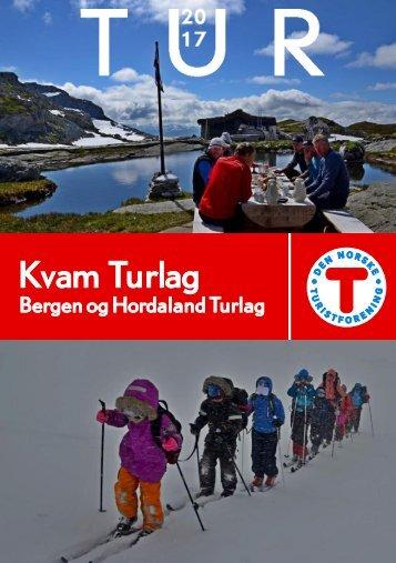 Kvam turlag - Turprogram 2017