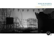 SCREEN Ocupa Art Palacio com Hans Op de Beek