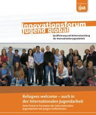 Refugees welcome – auch in der Internationalen Jugendarbeit