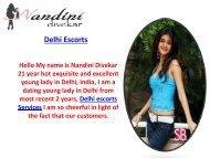 Delhi Escorts |Escorts in Delhi