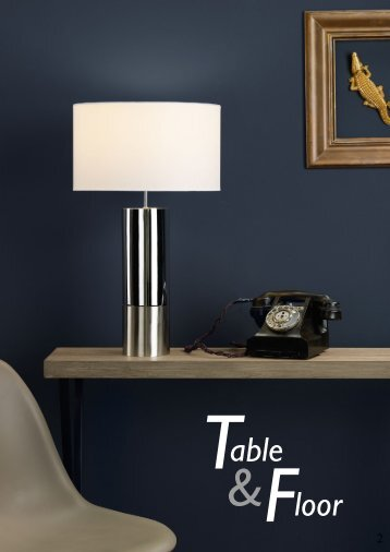 Washington Lighting - Table and Floor Lamps