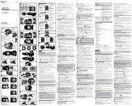 Sony MPK-WEB - MPK-WEB Istruzioni per l'uso