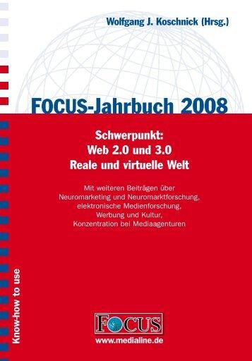 Das komplette FOCUS-Jahrbuch 2008 ... - FOCUS MediaLine