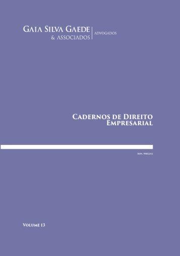 Cadernos de Direito Empresarial
