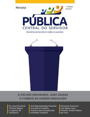 Revista PÚBLICA - 1ª Edição