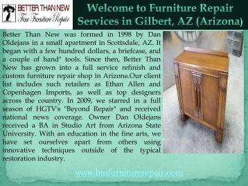 Furniture Restoration Gilbert
