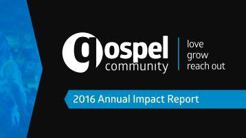 2016 Annual Impact Report