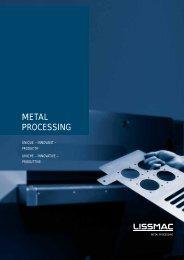 METAL PROCESSING - Lissmac