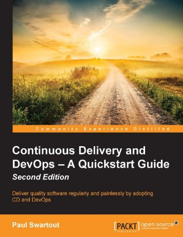 Continuous Delivery and DevOps- A Quickstart Guide - Second Edition [eBook]