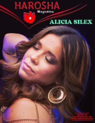 Harosha # 3 Alicia Silex