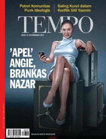 Majalah Tempo Edisi 13 Februari 2012