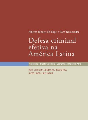 Defesa criminal efetiva na América Latina
